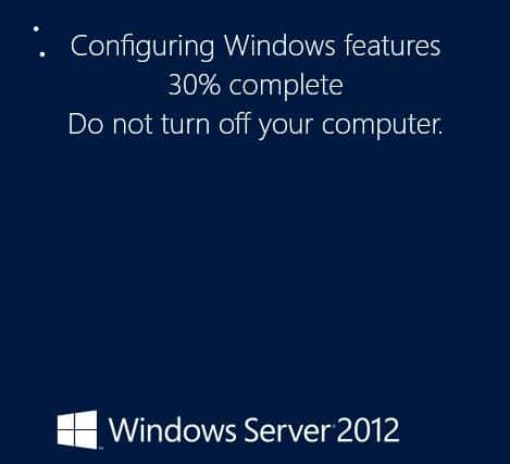 Add GUI Windows Server 2012 Server Core Powershell Windows Feature