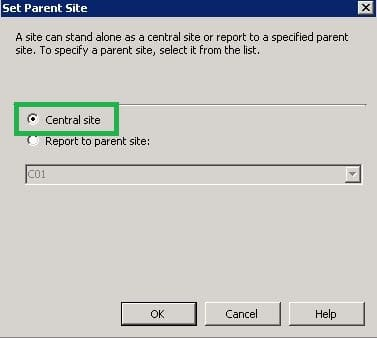 How To Remove a Primary Site in SCCM 2007