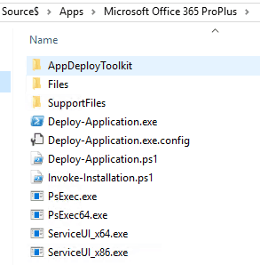 powershell app deployment toolkit