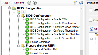 How To Use HP BIOS Configuration Tool and SCCM to Configure
