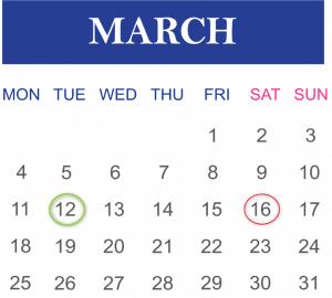 SCCM Patch Tuesday calendar offset