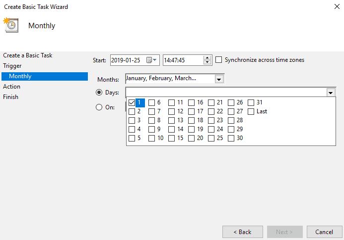 SCCM Maintenance Windows - Create Basic Task